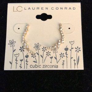 Rhinestone earrings by lc Lauren Conrad